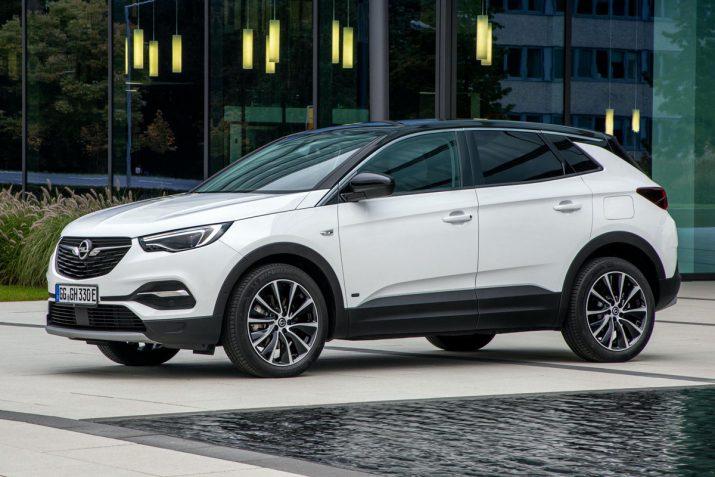 гибрид Opel FWD Grandland X 2020 07