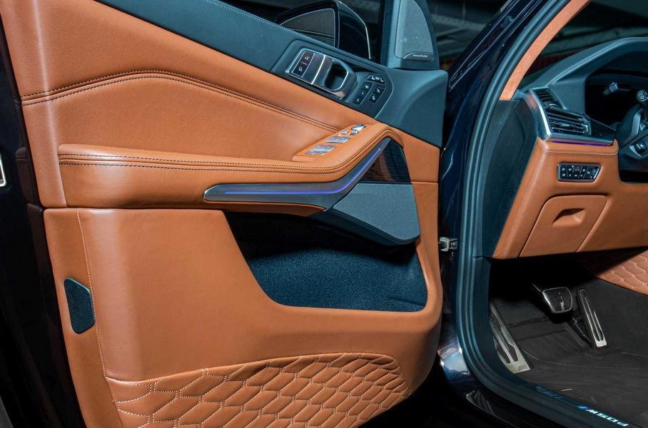 Болгары представляют BMW X7 c салоном из кожи