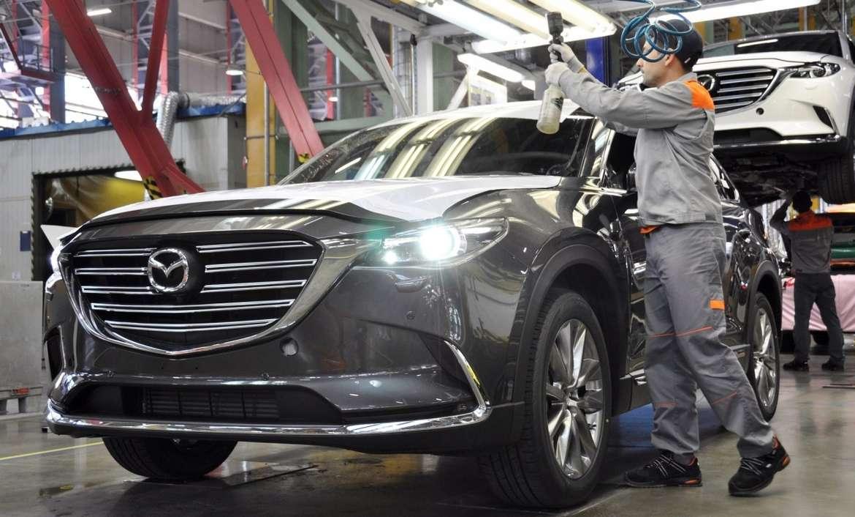 200-тысячный автомобиль производства Mazda сошел с конвейера в России