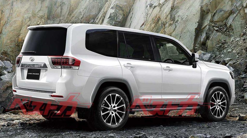Toyota объявила дату выхода нового Land Cruiser 300