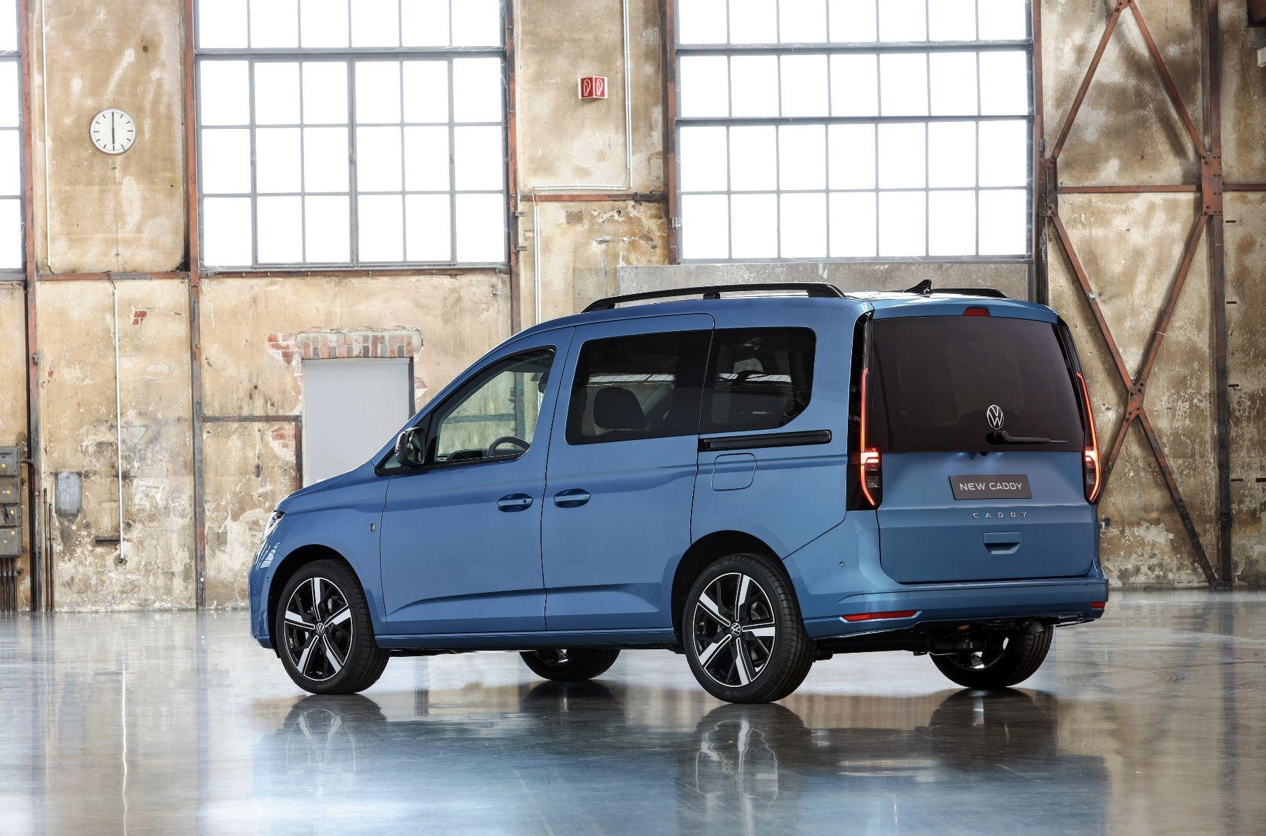 Volkswagen выпустил новое поколение фургона Caddy