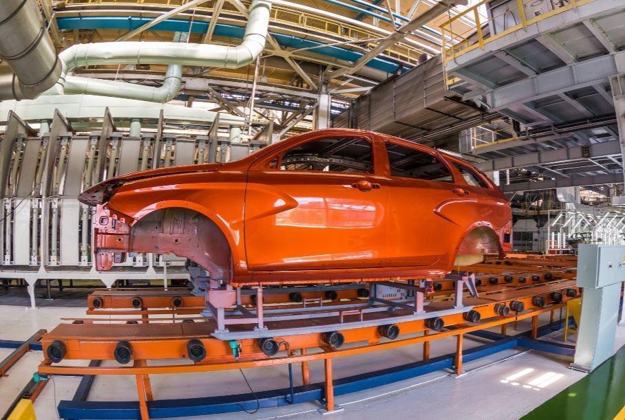 В России падают объемы производства автомобилей