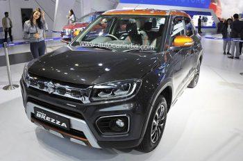 Suzuki выпустила в продажу обновленный Vitara Brezza