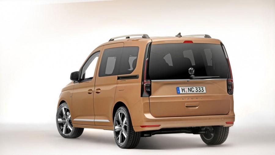 Volkswagen продемонстрировал новый фургон Caddy