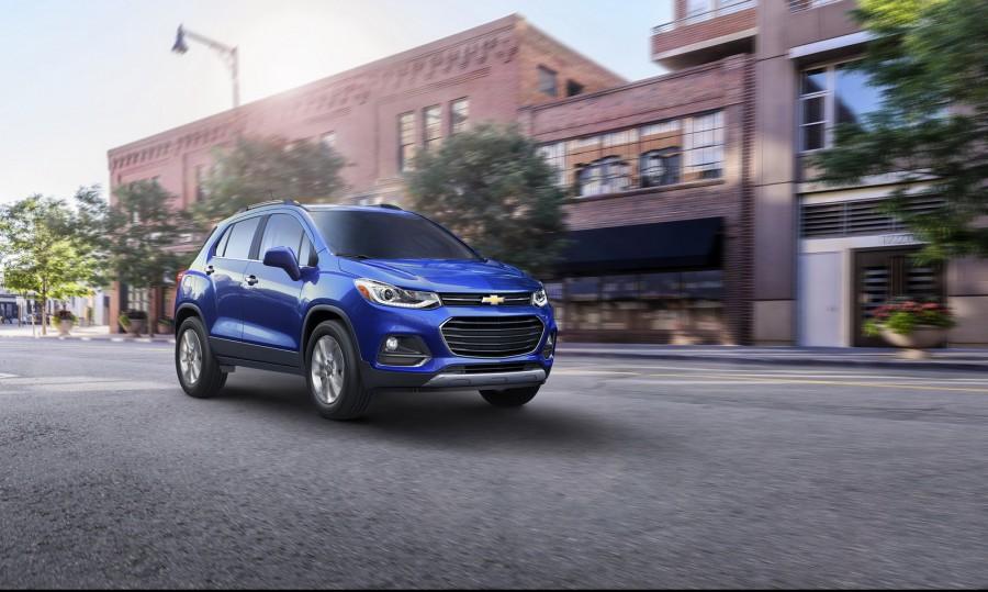 Chevrolet выпустила еще один вариант нового Tracker