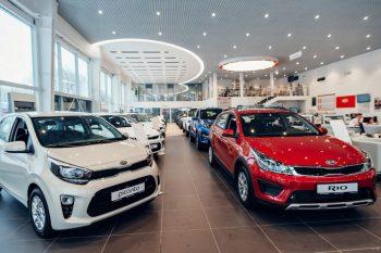 В январе Kia продала половину своих автомобилей в кредит
