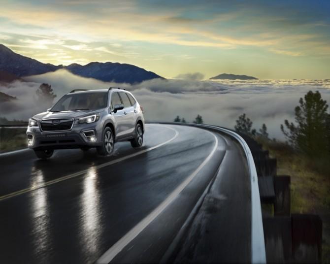 Subaru обнаружила 600 неисправных Forester в России