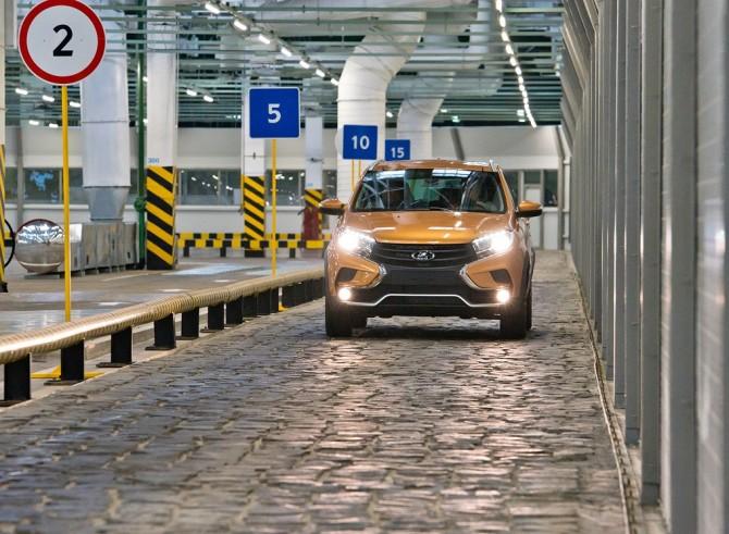 АвтоВАЗ построил трассу для испытания автомобилей