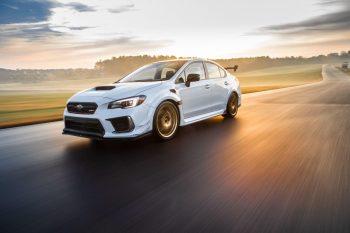 Стали известны первые детали о двигателе нового Subaru WRX STI