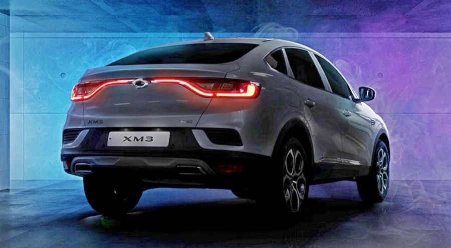 Renault Arkana выпустят под маркой Samsung