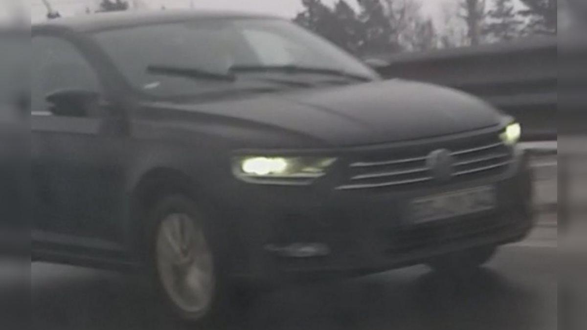 Новый седан Volkswagen Polo заметили на российских дорогах