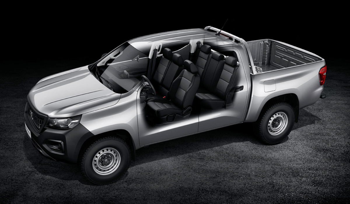 Peugeot представляет новый пикап Landtrek с китайскими корнями