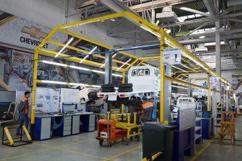 В Костанае началось производство Chevrolet Damas и Labo.