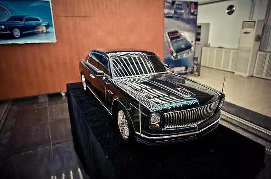Hongqi готовит к выпуску премиальный седан на основе «Волги»
