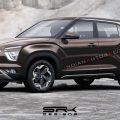 Удлиненный Hyundai Creta заметили на тестах