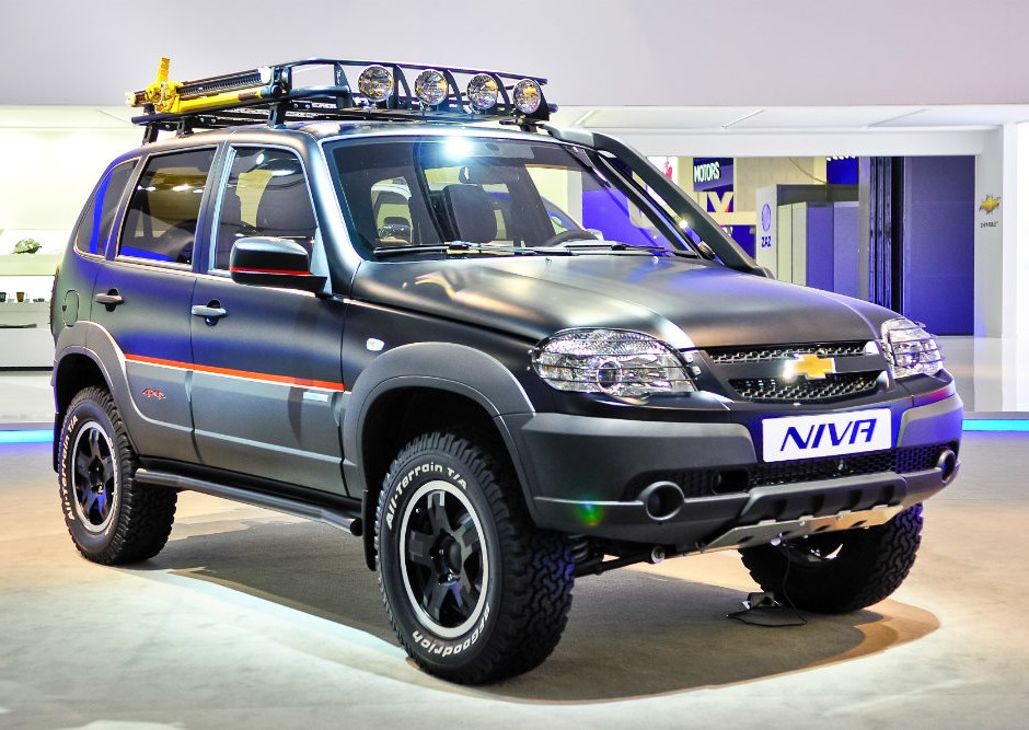 АвтоВАЗ поднял цену Chevrolet Niva