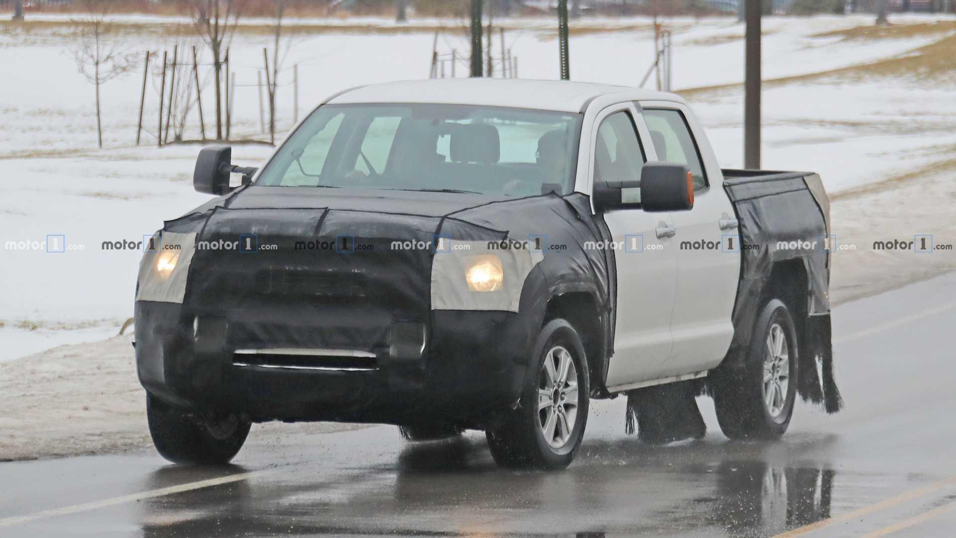 Toyota поделилась сведениями о новом пикапе Tundra