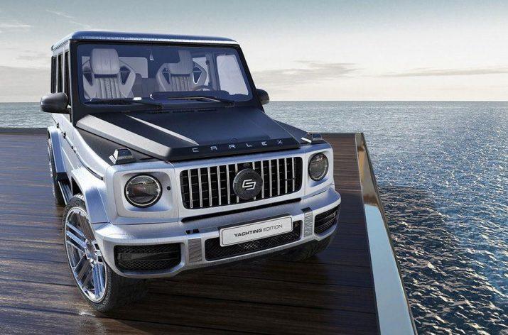 Новый Mercedes-AMG G 63 получил деревянный салон