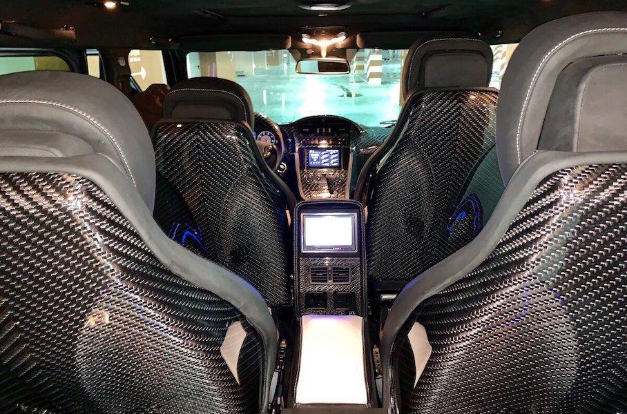 Карбоновый Mercedes G-Class доступен в Москве от 38 000 000 рублей