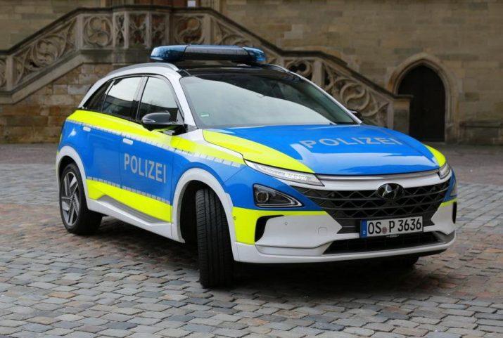 Hyundai выпустила водородный кроссовер для полицейских