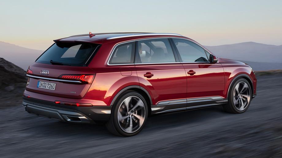 Новый Audi Q7 выходит на отечественный авторынок.