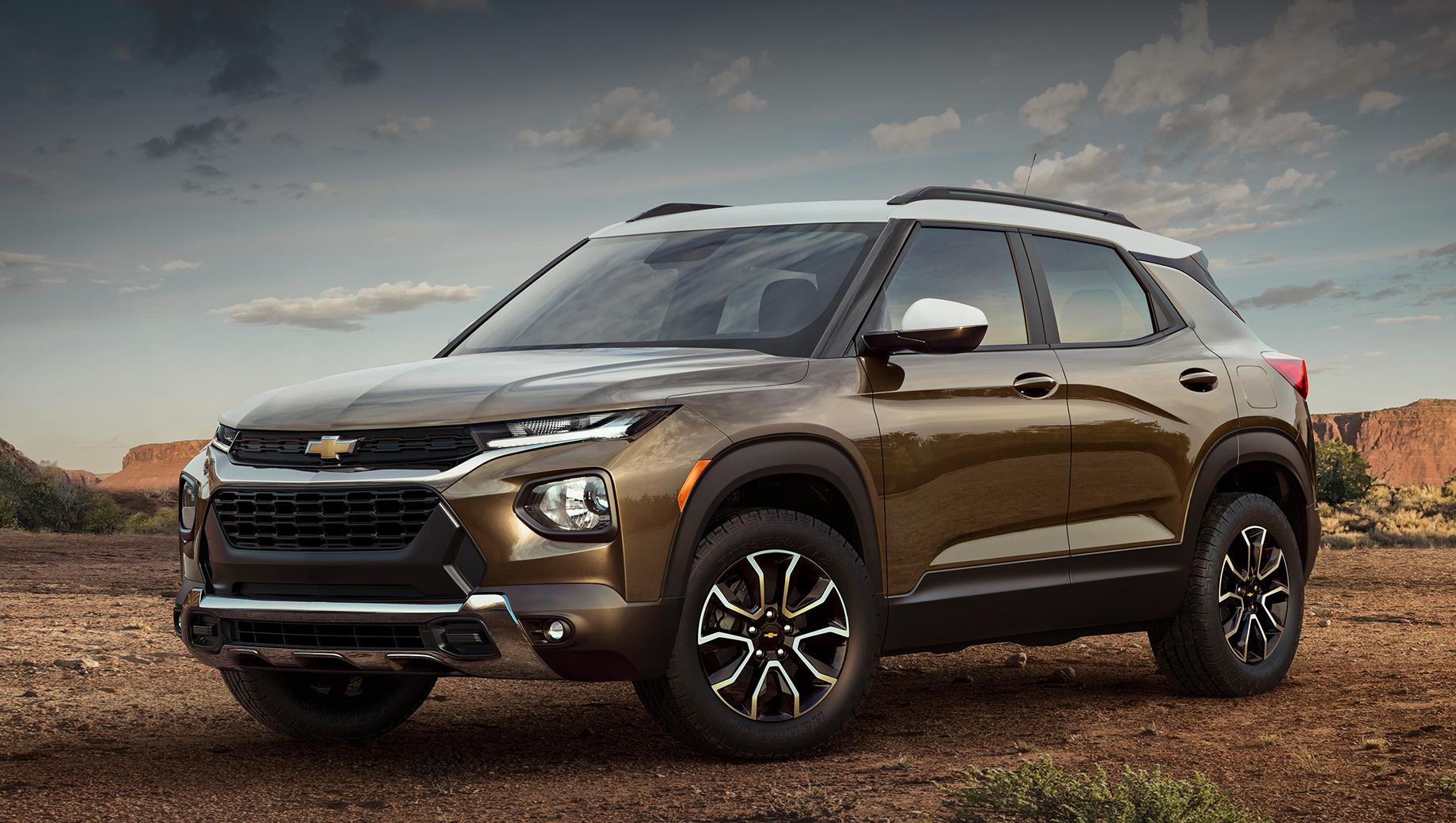 Chevrolet оснастила кроссовер Trailblazer 3-цилиндровыми двигателями