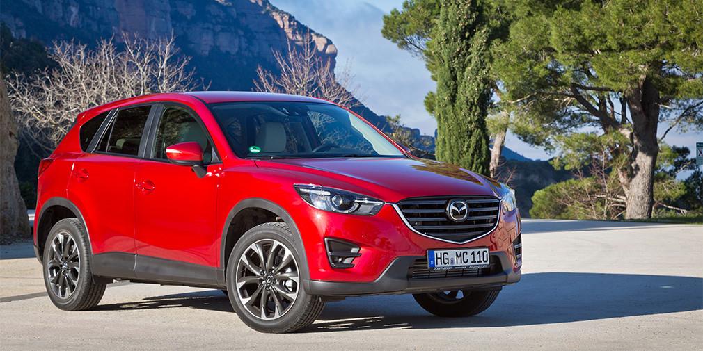 Mazda отзывает 9000 автомобилей в России
