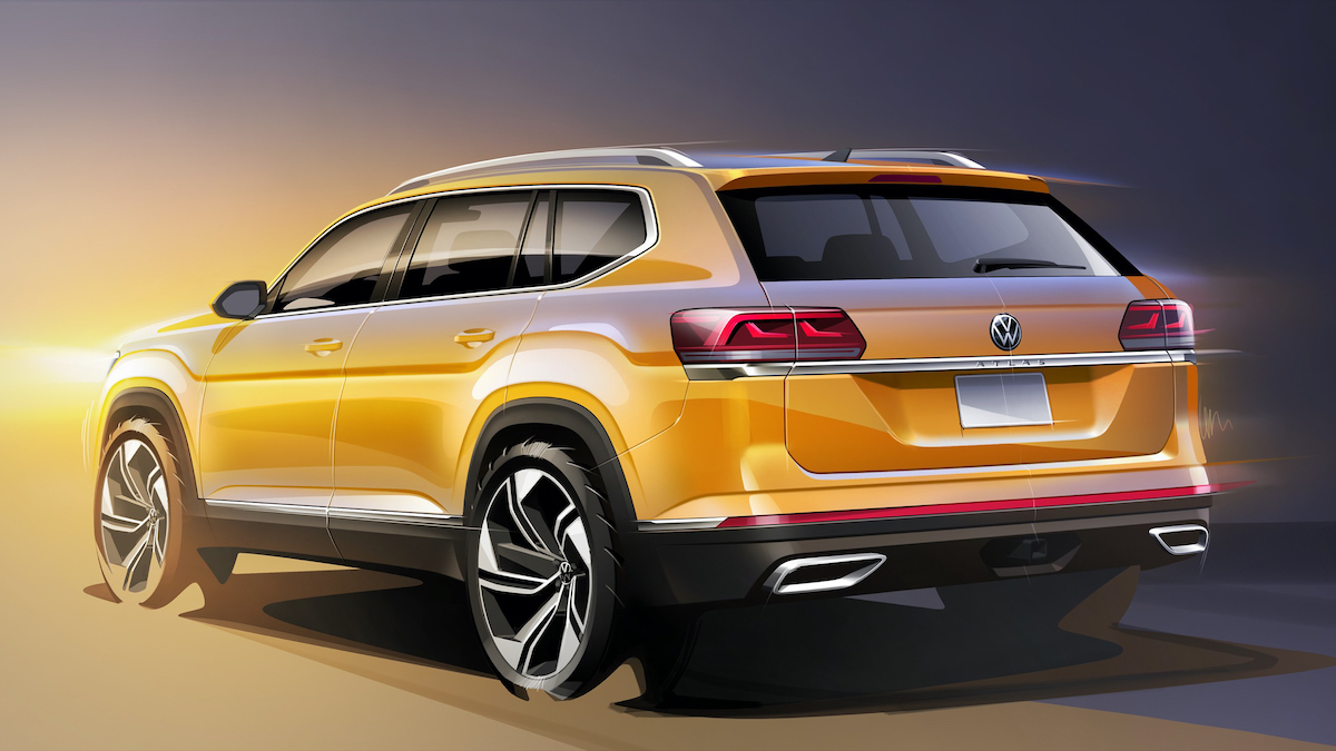 Volkswagen готовится к сборке нового кроссовера крупнее Teramont.