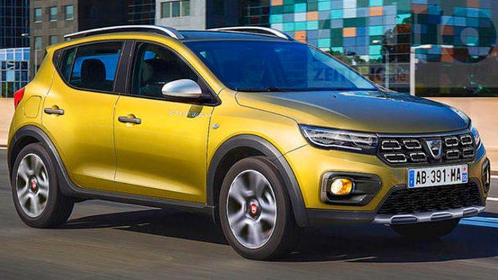 В Сети появились изображения обновленного Renault Sandero Stepway