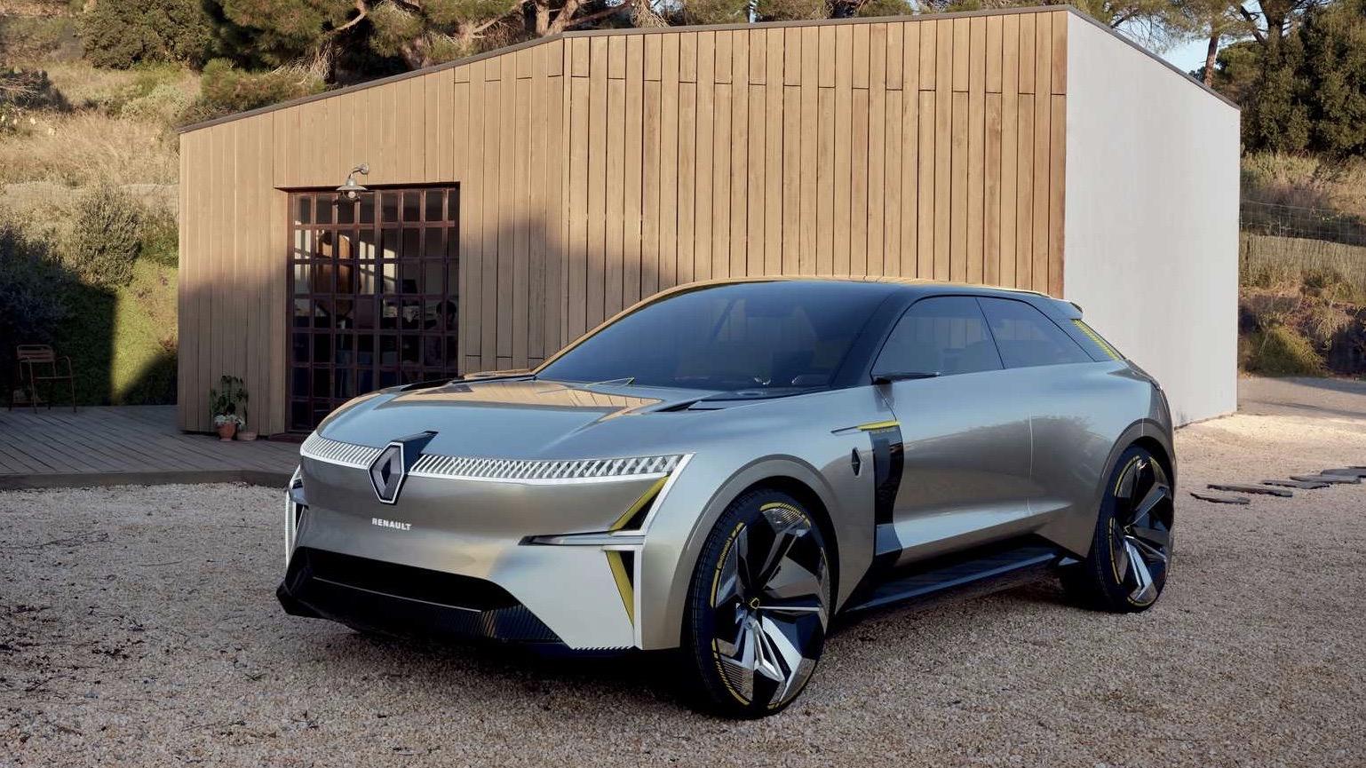 Премьера электрокара Renault состоится этой осенью.