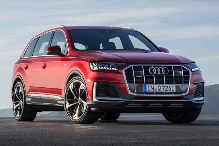 Новый Audi Q7 выходит на отечественный авторынок