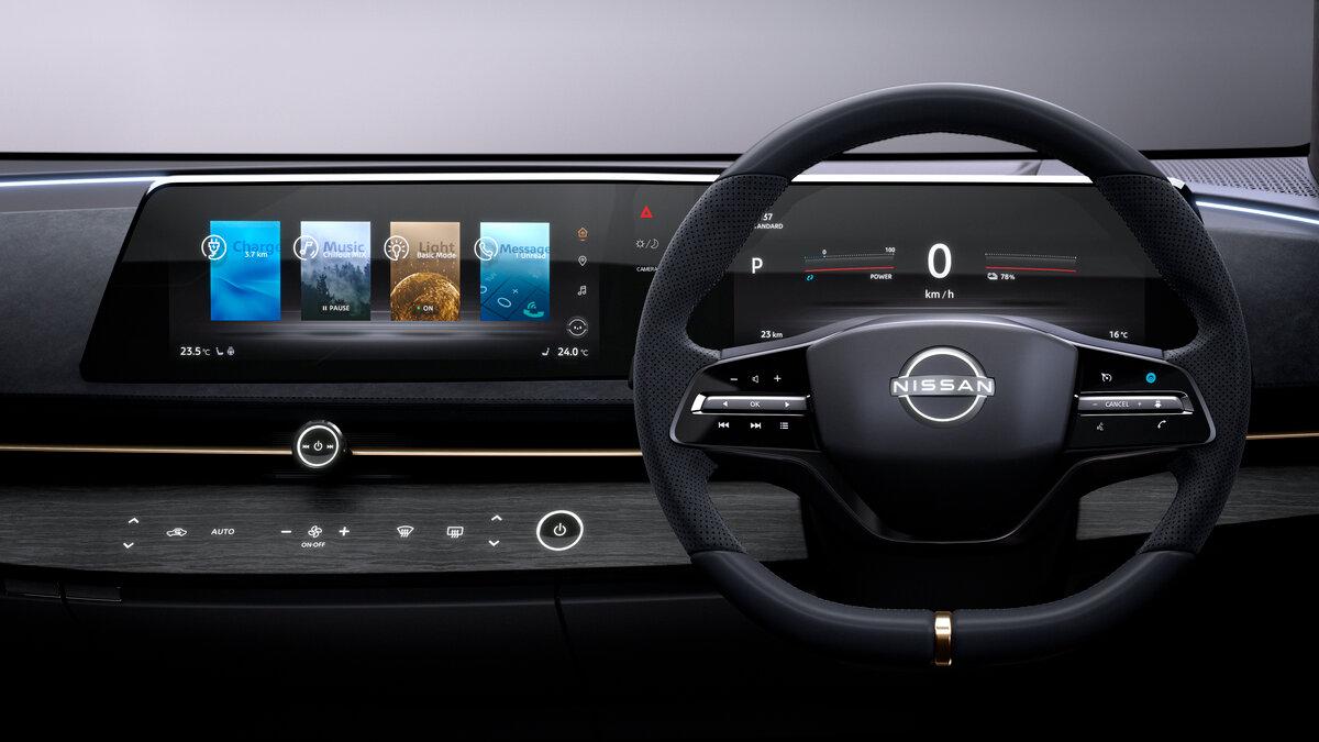Nissan назвал 3 причины для отказа от вертикальных планшетов в автомобилях