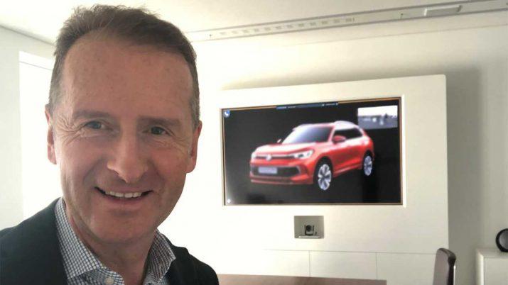 Директор Volkswagen «нечаянно» показал новинку
