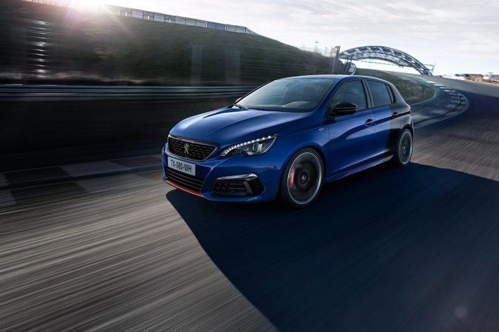 Peugeot 308 получит гибридную установку мощностью в 300 «лощадей»