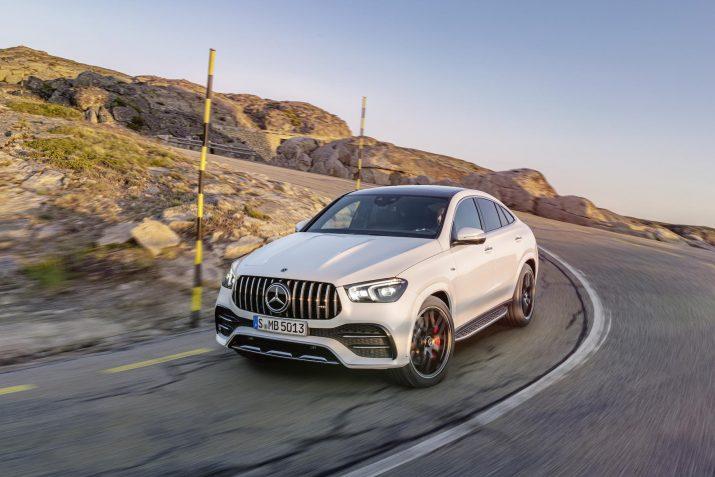 Mercedes объявил стоимость «заряженного» GLE для российского рынка