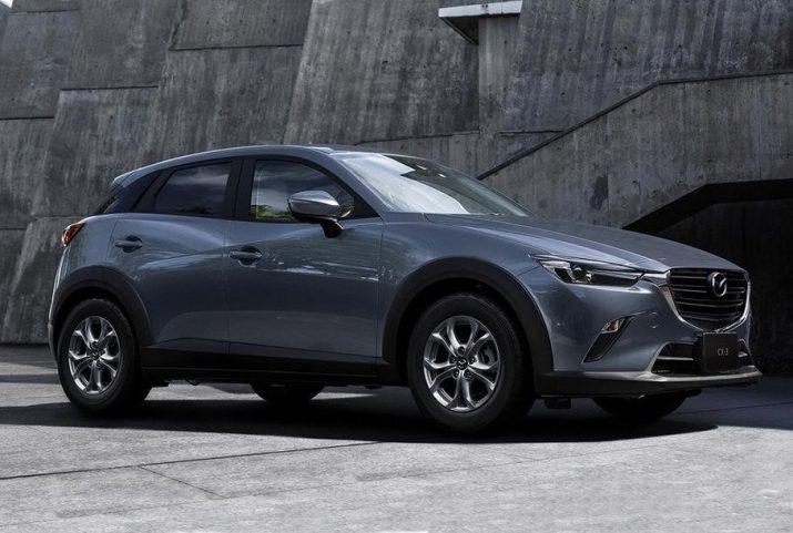 Кроссовер Mazda CX-3 получил 1,5-литровый двигатель