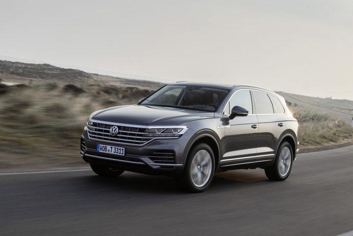 Volkswagen отозвал более 1 000 новых Touareg в России