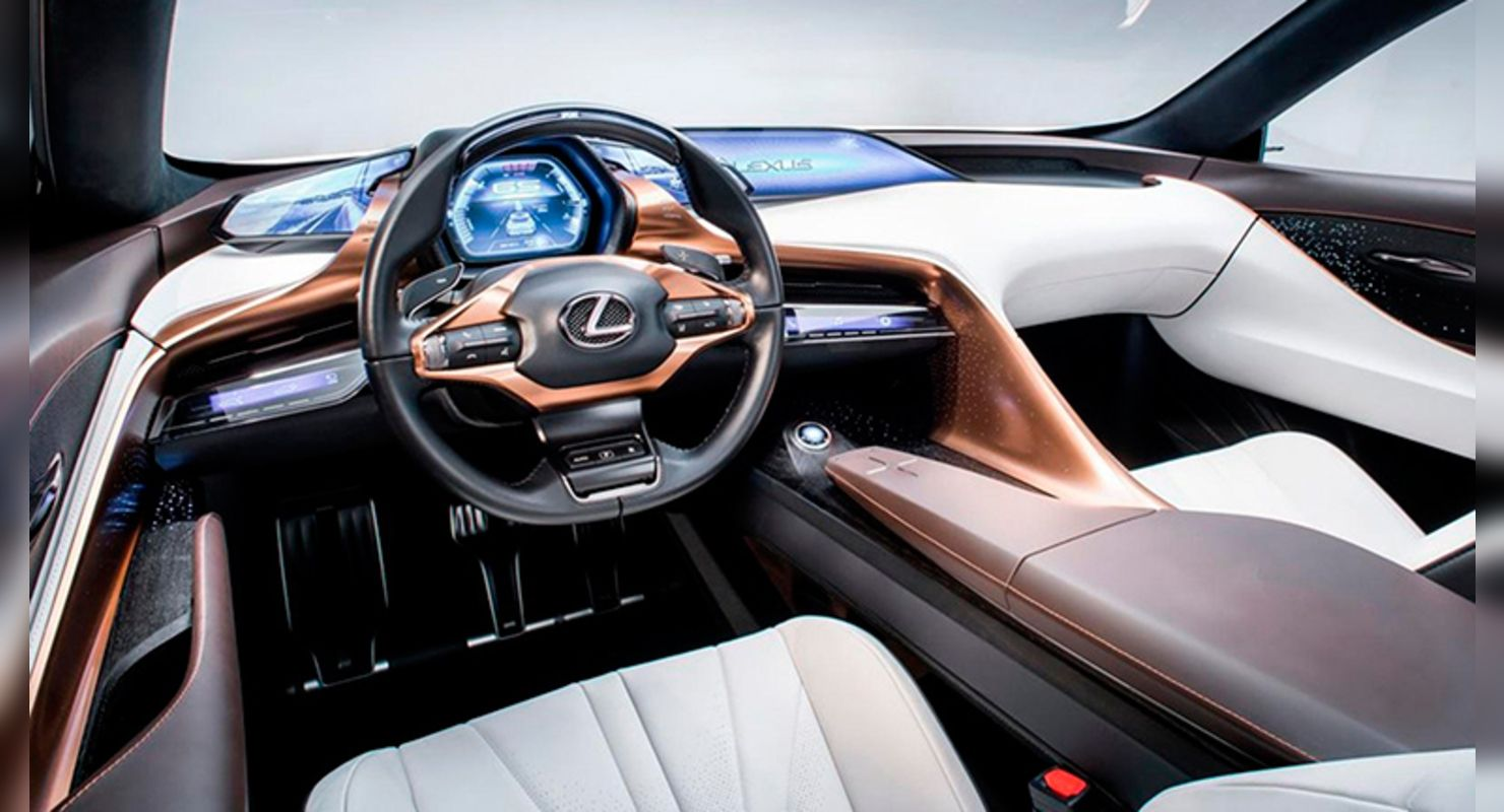 Lexus разрабатывает конкурента Porsche Cayenne Coupe