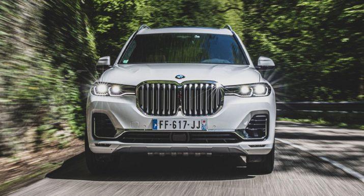 Новый BMW X7 одобрили для продажи в России