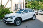 Шкода Кодиак - Характеристики автомобиля ŠKODA KODIAQ