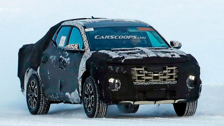 Появились изображения нового Hyundai Santa Cruz