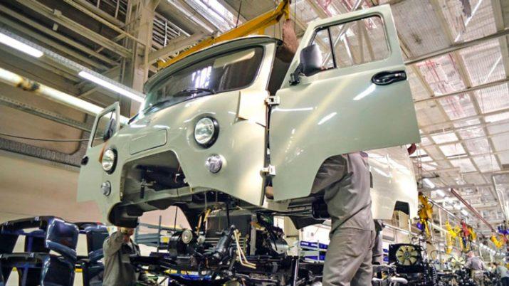 В мае УАЗ выпустит на тысячу автомобилей больше, чем в апреле