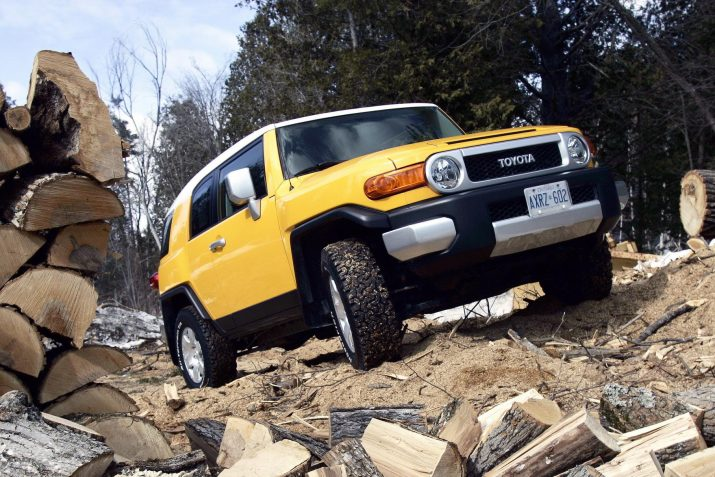 Toyota разрабатывает ретро-внедорожник на раме