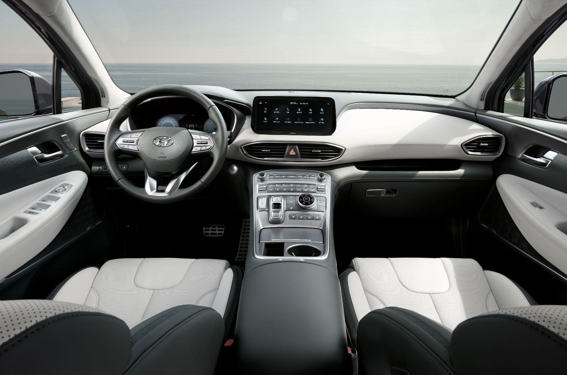 Hyundai Santa Fe обновил свой дизайн