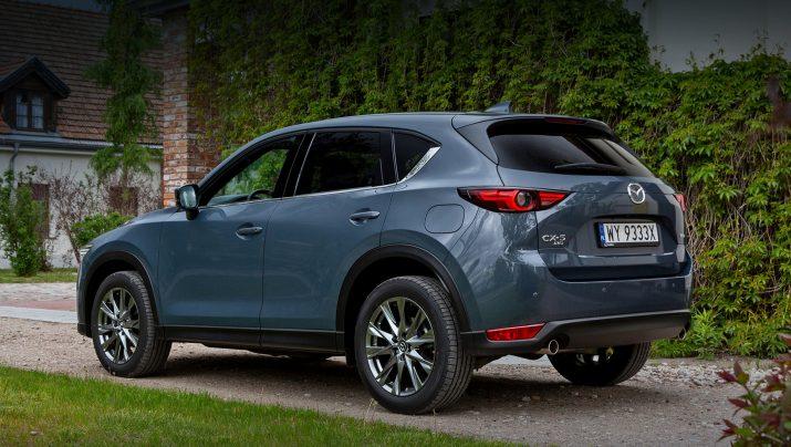 В Европе слегка обновили Mazda CX-5