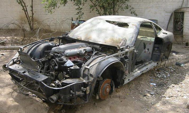 В России введут штраф за брошенные автомобили