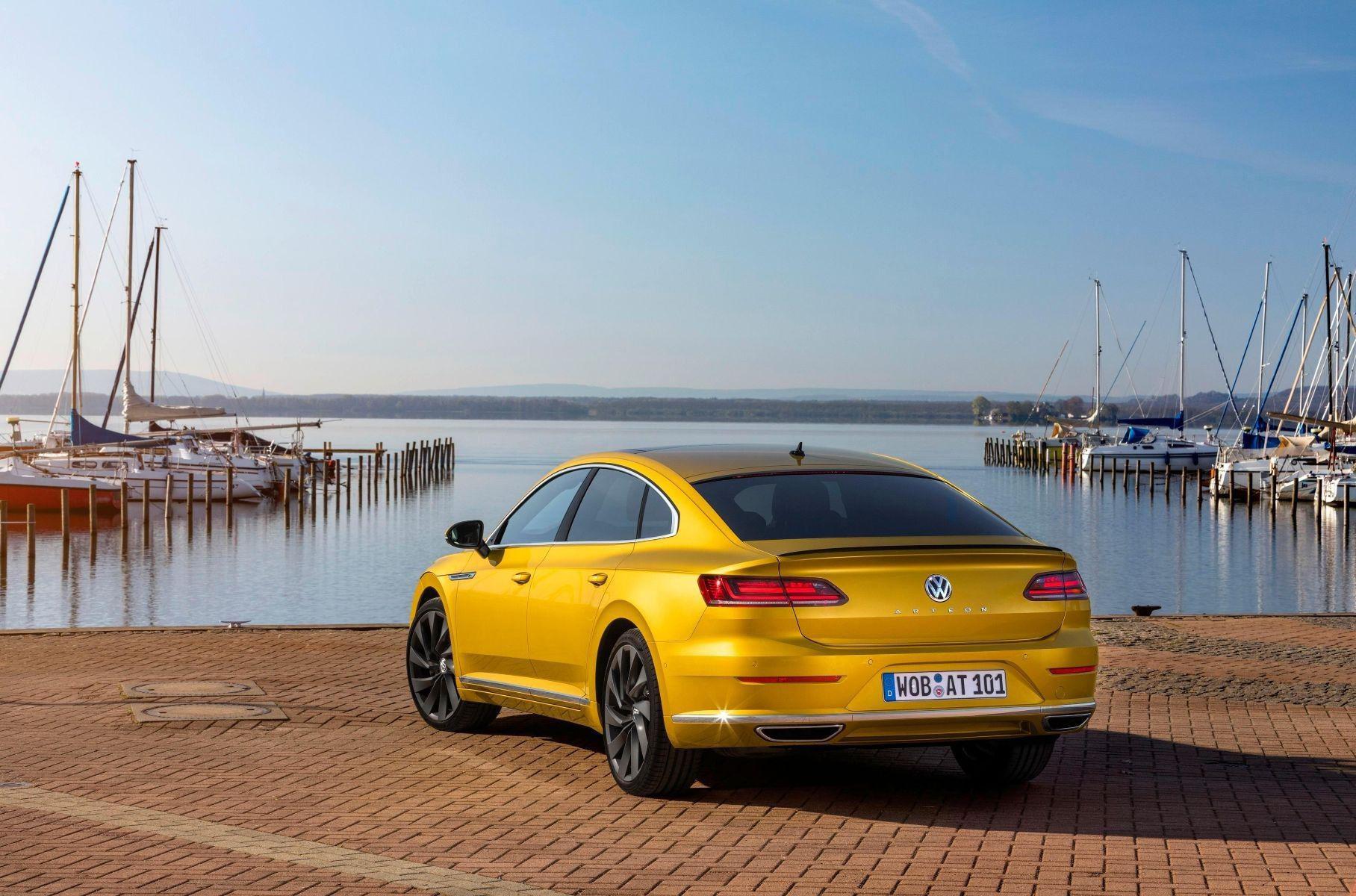 Перед стартом продаж Arteon в России Volkswagen объявил цены на новинку