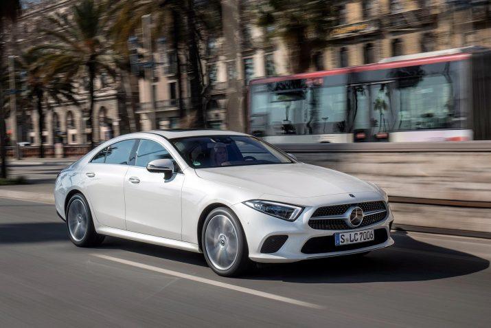 Mercedes запустил продажи обновленного CLS