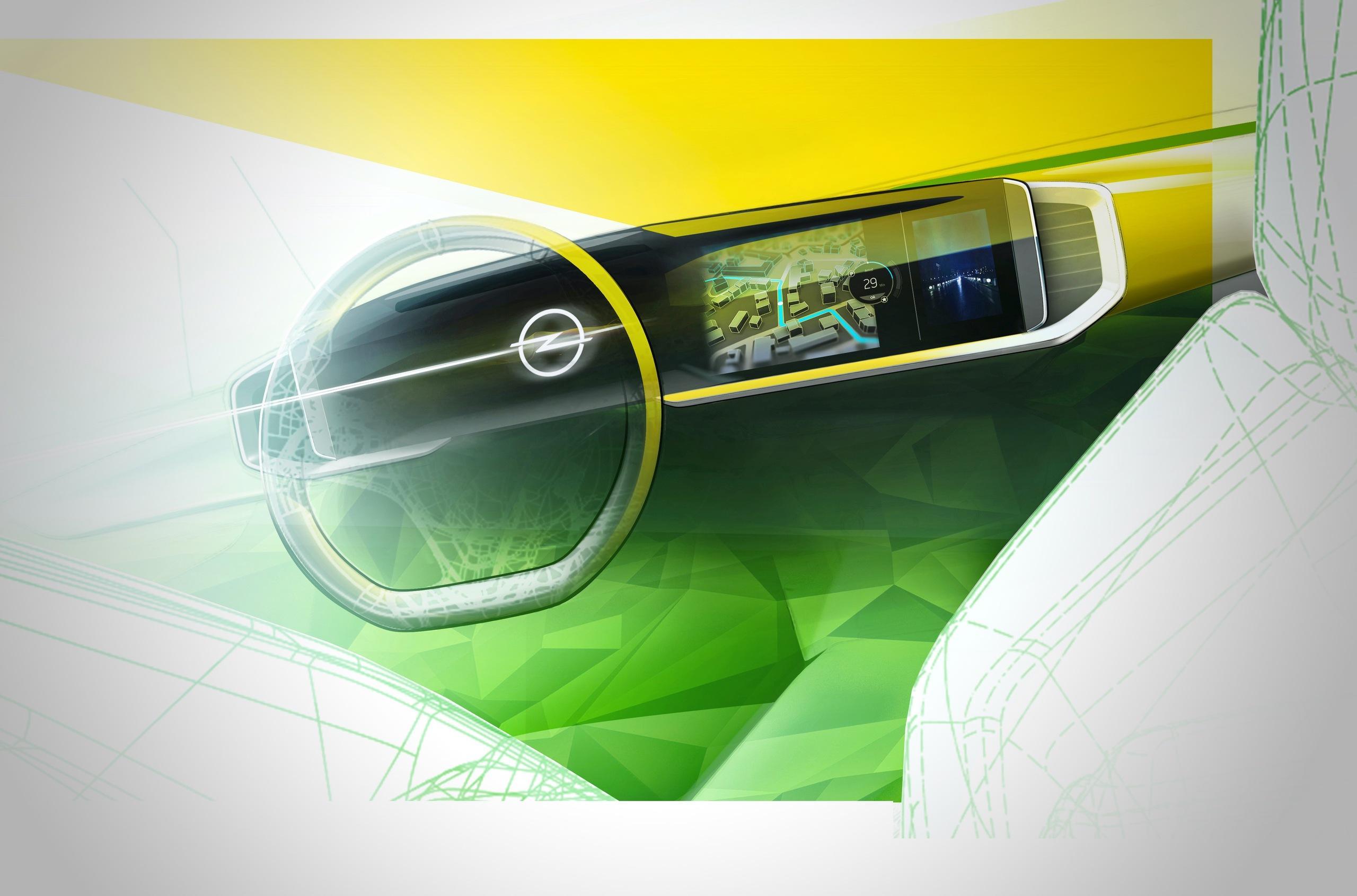 Новый Opel Mokka получит цифровой кокпит
