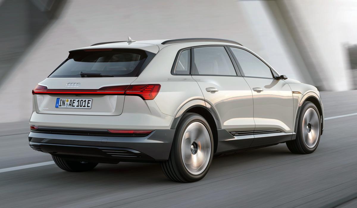 Audi e-tron появился в России уже после рестайлинга